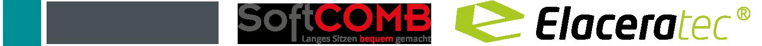 Simoba, Softcomb & Elaceratec Logo